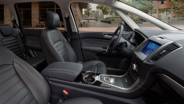 2021 Ford Galaxy interior