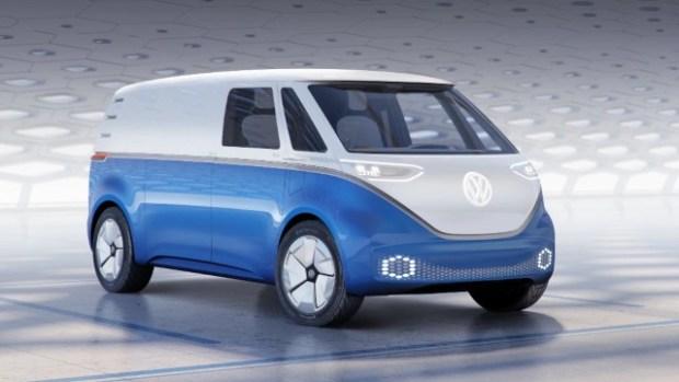2022 VW I.D. Buzz Cargo exterior