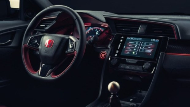 2021 Honda Odyssey Type R interior