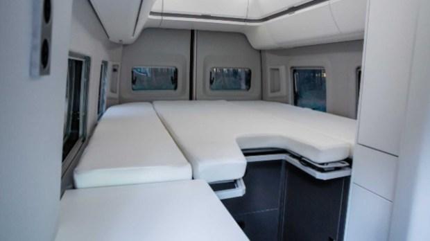 2021 Volkswagen Grand California interior