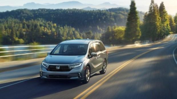 2021 Honda Odyssey Hybrid facelift