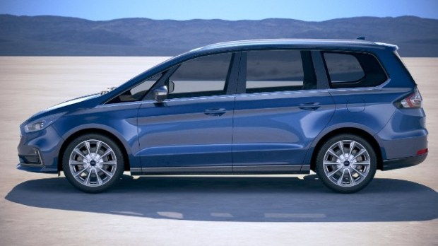 2021 Ford Galaxy Hybrid facelift