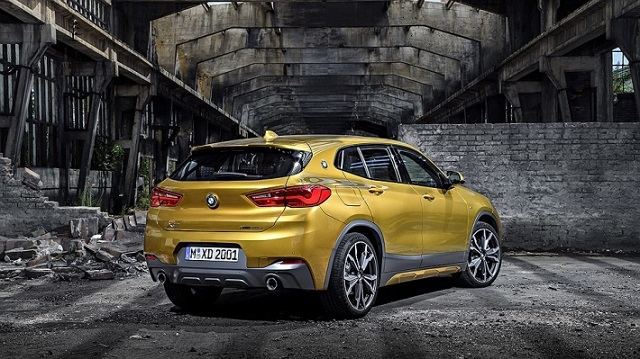 2019 BMW X2 rear view