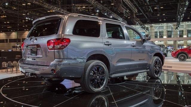 2019 Toyota Sequoia rear view