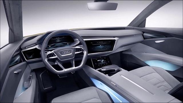 2019 Audi Q9 interior