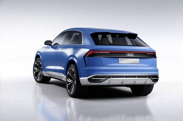 2019 Audi Q9 rear view