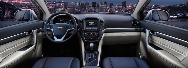 2019 Chevy Captiva interior