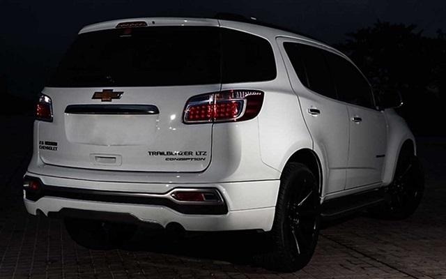 2019 Chevy Trailblazer rear view