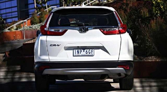 2019 Honda CR-V rear view