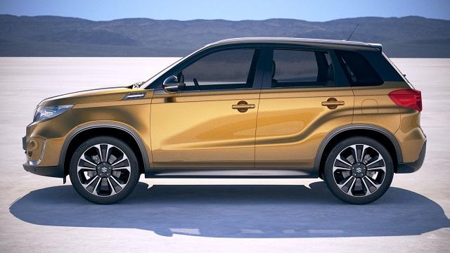 2019 Suzuki Vitara side view