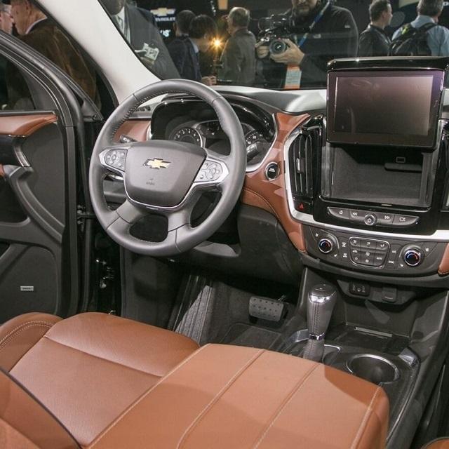 2020 Chevy Tahoe interior