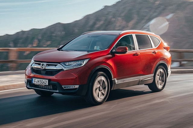 2020 Honda CR-V front view
