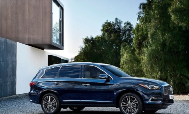 2020 Infiniti QX60 side view