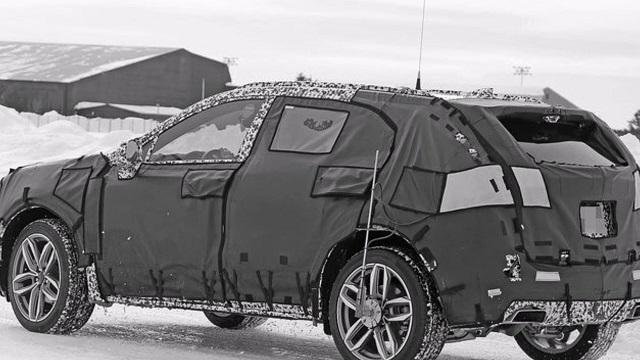 Cadillac XT3 Crossover Prototype rear view