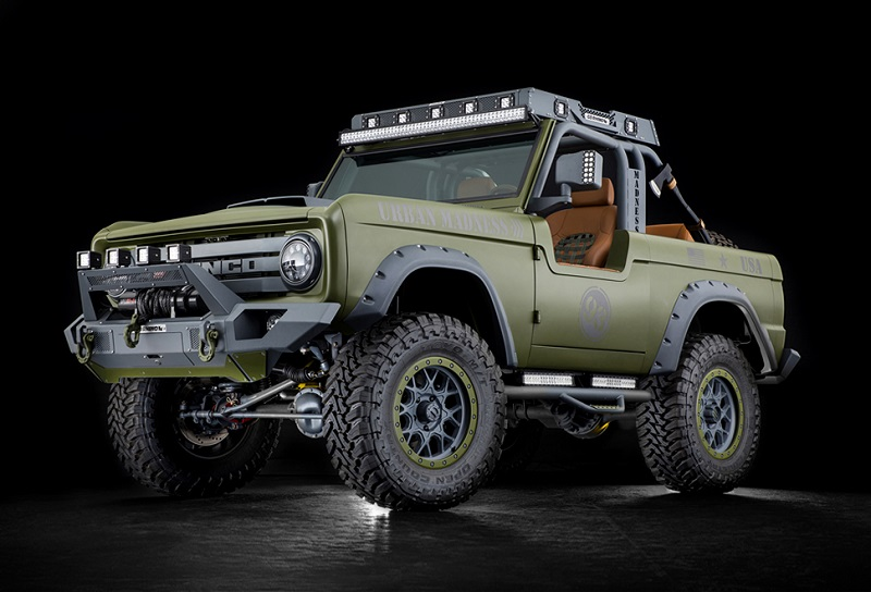 ford bronco spy  interior   suv models