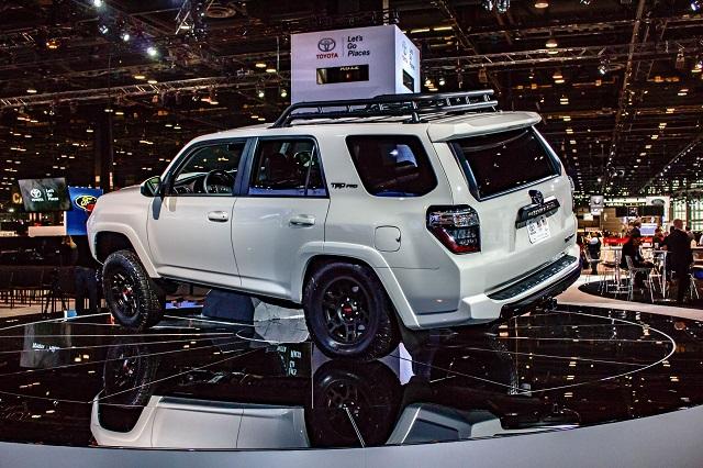 2020 Toyota 4runner rear view