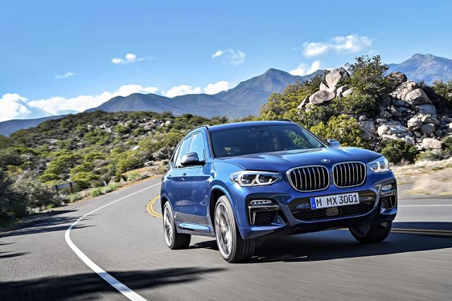 2020 BMW X3 front view