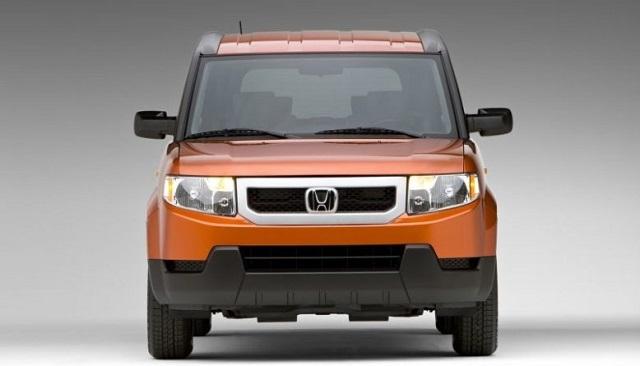 2020 Honda Element front view