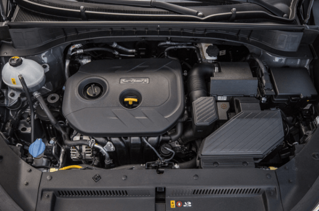 2020 Hyundai Tucson engine