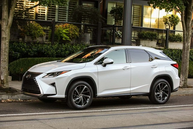 2020 Lexus RX 350 side view