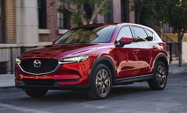 2020 Mazda CX-5 front view