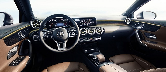 2020 Mercedes-Benz GLA interior