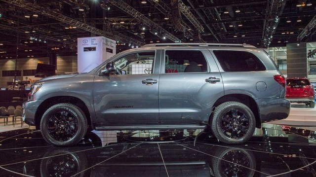 2020 Toyota Sequoia side view