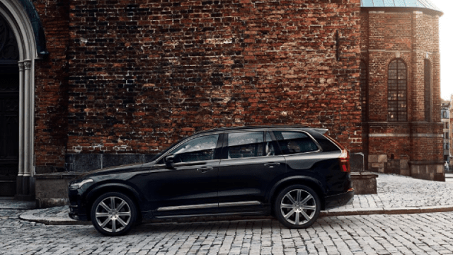 2020 Volvo XC90 side view