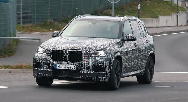 2020 BMW X5 spy shots