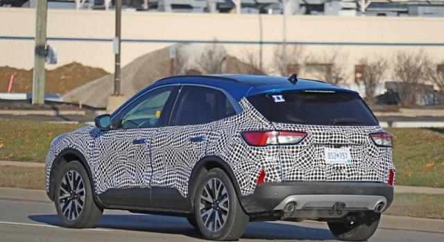 2020 Ford Escape rear view
