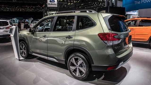 2020 Subaru Forester rear view