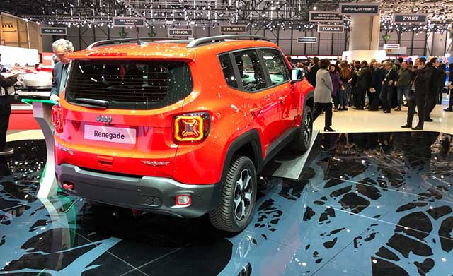 2020 Jeep Renegade Hybrid changes