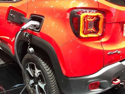 2020 Jeep Renegade Hybrid debut