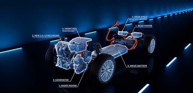 2020 Mitsubishi Pajero phev