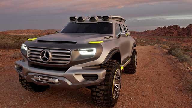 2020 Mercedes - Benz GLG off road concept