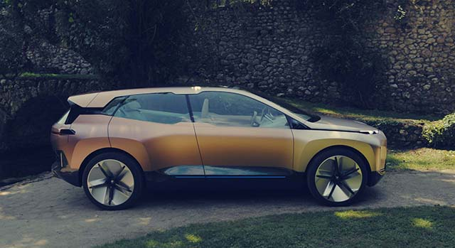 2021 BMW iNext range