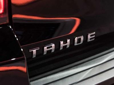 2021 Chevrolet Tahoe and suburban