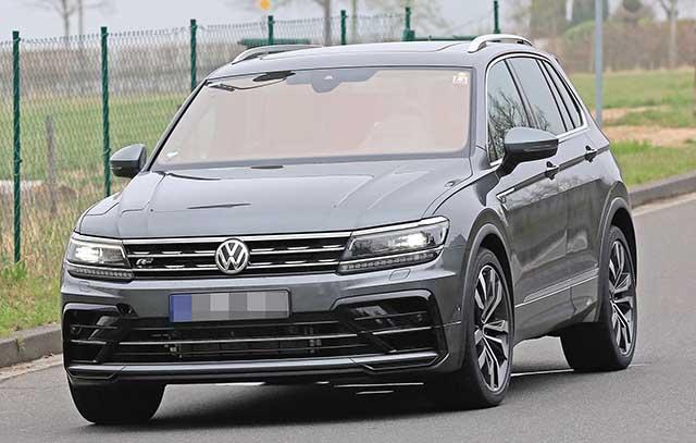 2021 VW Tiguan R-Line release date