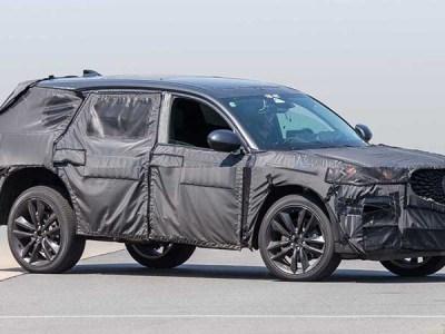 2020 Acura MDX Type S spy photos