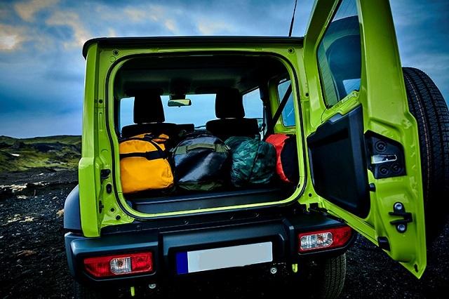 2020 Suzuki Jimny cargo space