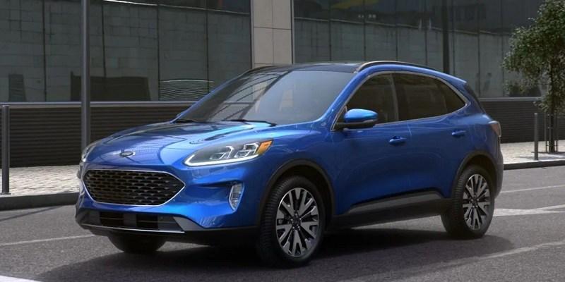 2021 Ford Escape prices