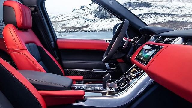 2020 Range Rover Sport HST interior