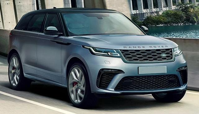 2020 Range Rover Velar changes