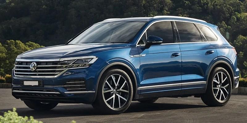 2020 VW Touareg changes