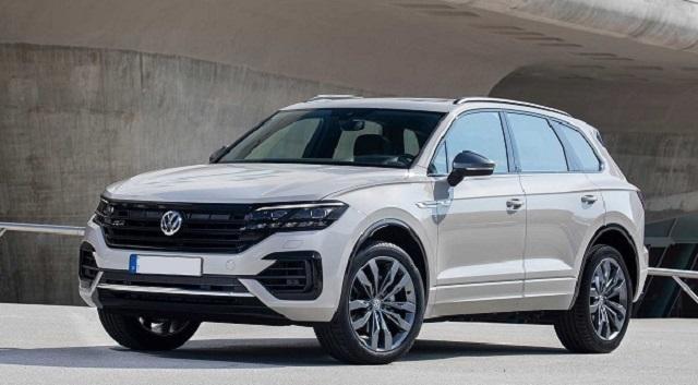 2020 VW Touareg one million