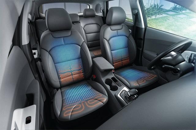 2020 Kia Niro Plug-In Hybrid interior