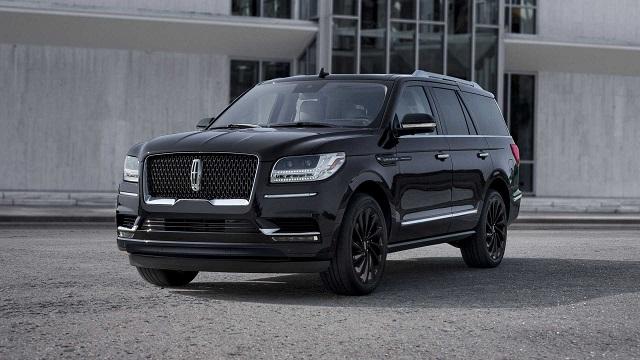 2020 Lincoln Navigator Black Label Infinite Black