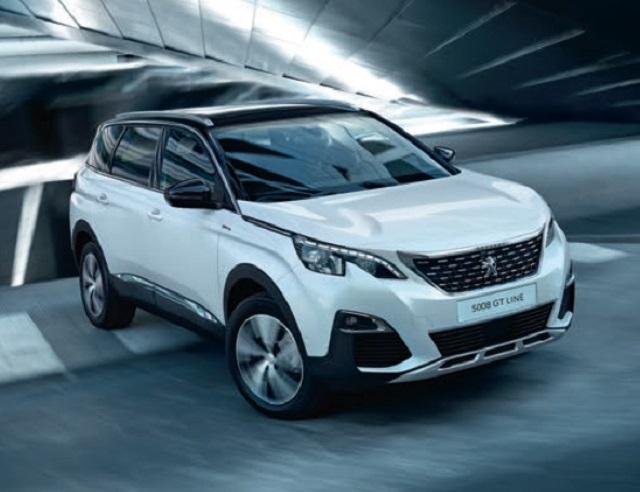 2020 Peugeot 5008 gt line