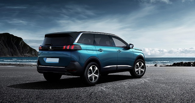 2020 Peugeot 5008 restyling