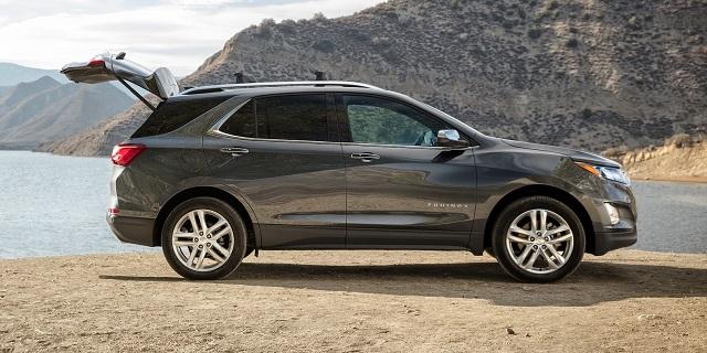 2020 Chevy Equinox LT changes